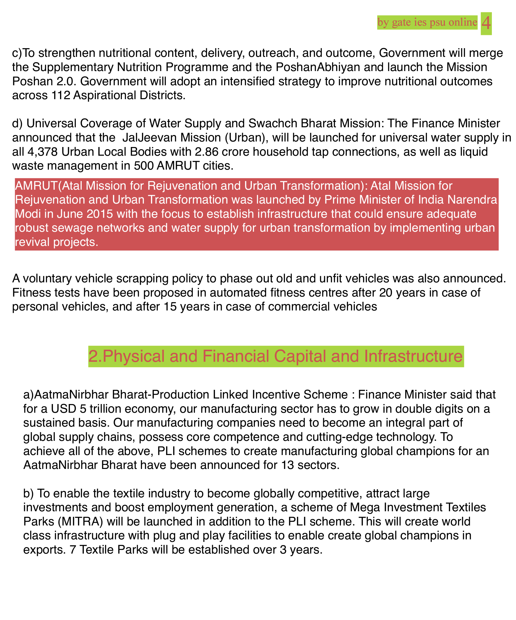 6 pillar of union budget 2021-22 upsc current affairs