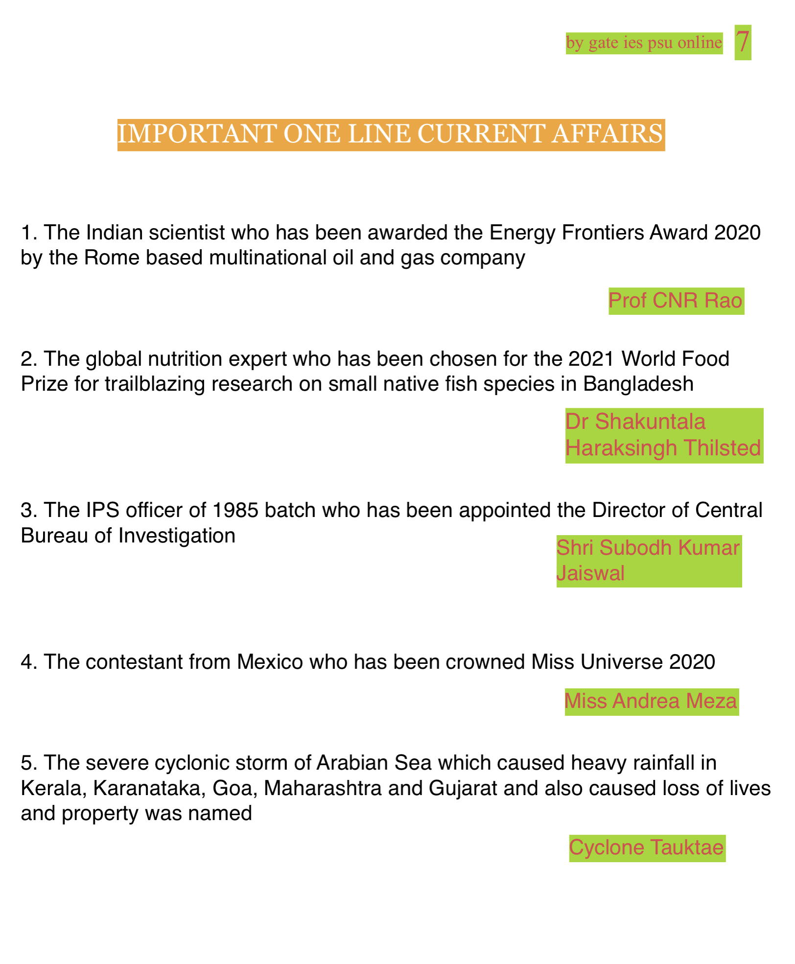 IES IRMS CURRENT AFFAIRS
